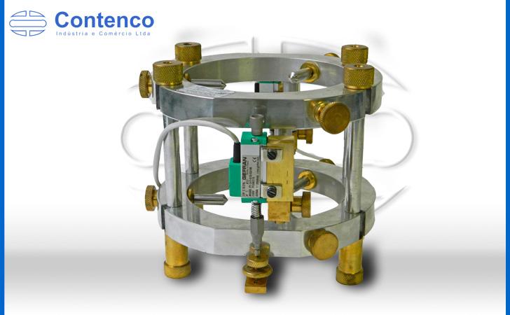 prensa hidráulica manual para ensaio em concreto