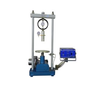 ensaio de solos - prensa elétrica cbr
