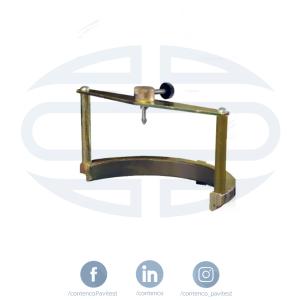 ensaio de solos Tripé Porta Extensômetro para CBR/ISC