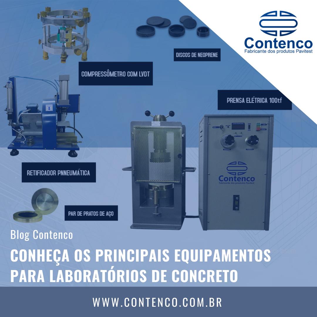 equipamentos para laboratórios de concreto
